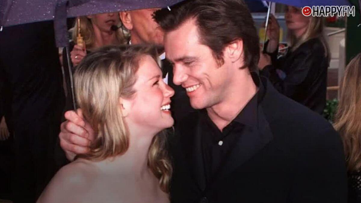 Jim Carrey y Renée Zellweger