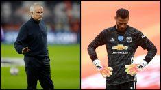 De Gea tuvo una mala actuación en el United – Chelsea de la FA Cup. (AFP/Getty)