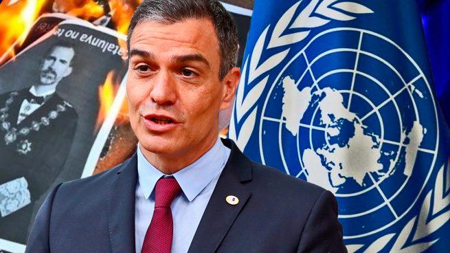Sánchez promete a la ONU despenalizar el delito de injurias al Rey en un examen sobre derechos humanos