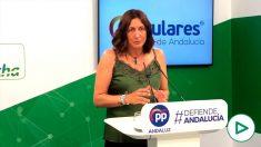 Loles López, secretaria general del PP Andaluz.