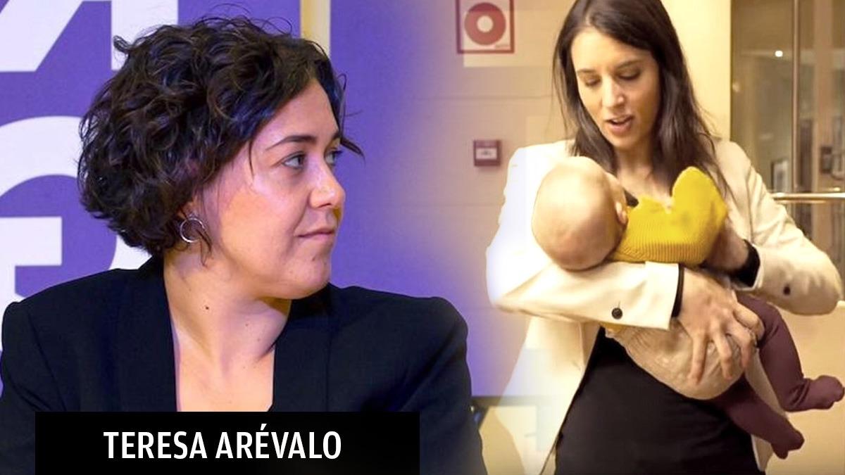 Teresa Arévalo e Irene Montero.
