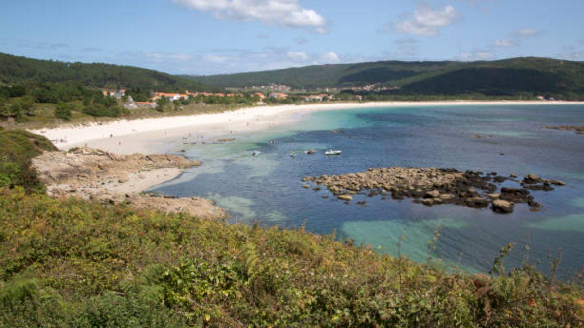 Playa de Langosteira en A Coruña