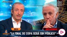 Inda explicó que la Copa del Rey apunta a jugarse sin público.