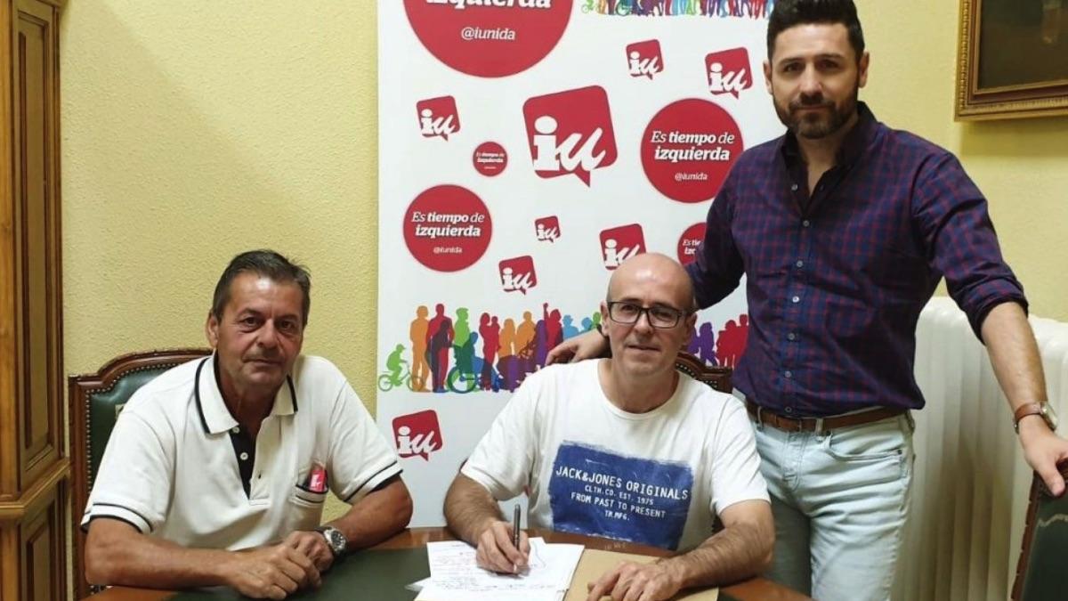 Grupo municipal de IU en Santa Cruz del Retamar.