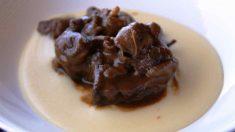 Receta de Jabalí en salsa de chocolate