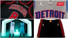 Así serán las camisetas de la NBA con el logo de Michael Jordan.