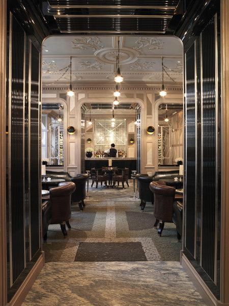 Una de las estancias del exclusivo Hotel Connaught de Londres.