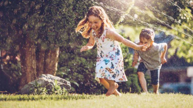 Actividad física con los niños