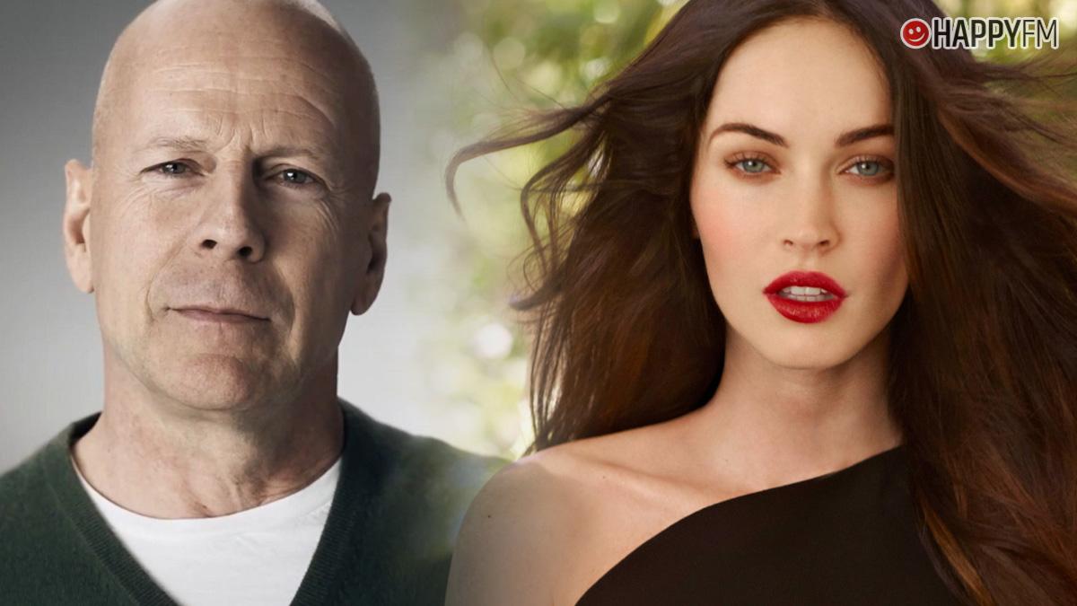 Bruce Willis y Megan Fox