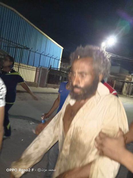 Mohammed al Gammal fue encontrado meses después de ser enterrado