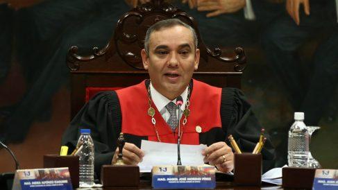 El presidente del TSJ de Venezuela, Maikel Moreno. – Pedro Mattey/dpa – Archivo