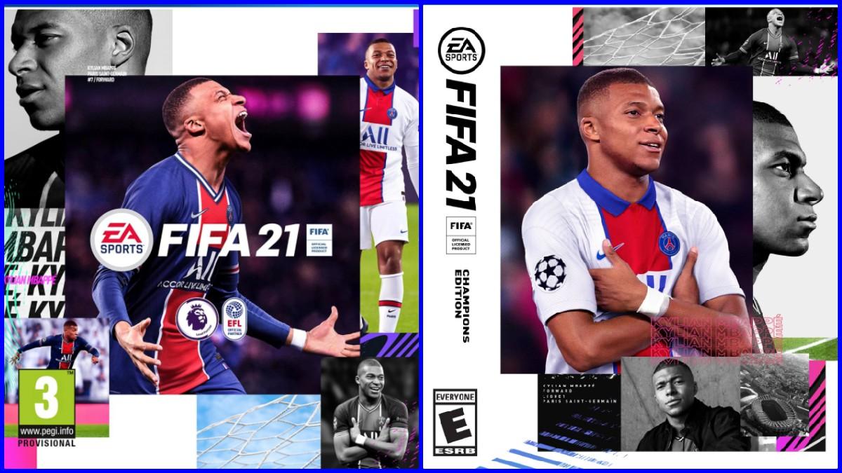 Mbappé será la portada del FIFA21. (FIFA)