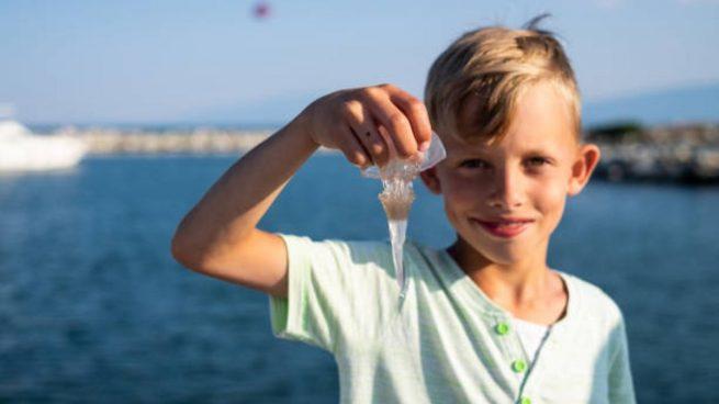 medusas y niños