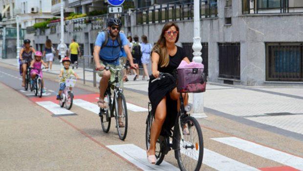 salir en bicicleta