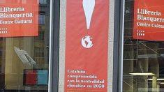 Entrada del centro cultural Blanquerna, sede de la delegación de la Generalitat en Madrid.