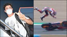 Marc Márquez tiene el ok de los médicos para poder correr el domingo en Jerez.