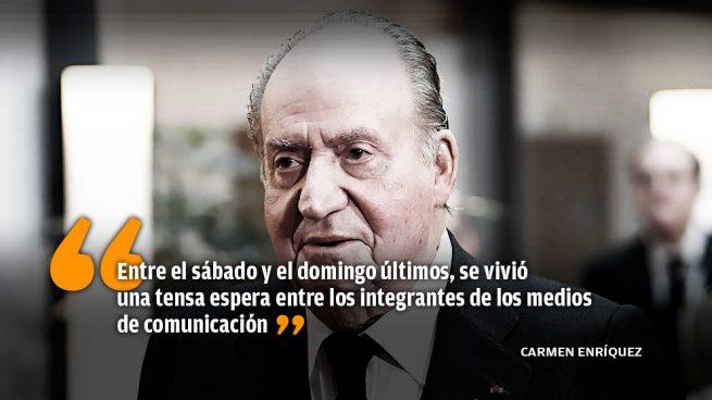 La salida a la crisis del Rey Juan Carlos se ralentiza