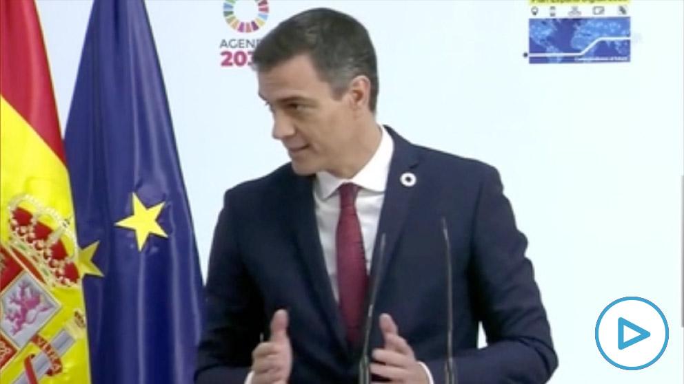Pedro Sánchez sigue en el autobombo por el acuerdo europeo: «Hacía tiempo que no trasnochaba dos días seguidos».