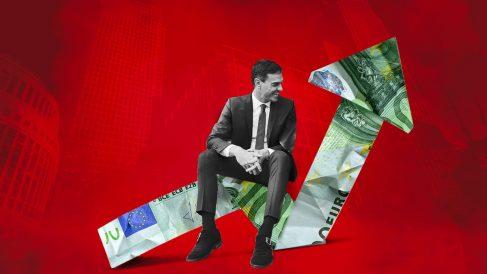 El presidente del Gobierno, Pedro Sánchez, quiere subir los impuestos.