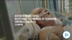 El impactante vídeo para concienciar sobre los contagios del coronavirus: «Una cita familiar te puede regalar la muerte».