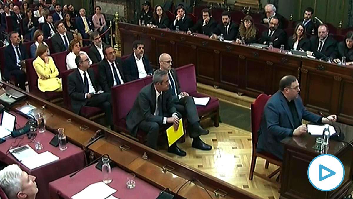 El juicio del procés. Foto EP