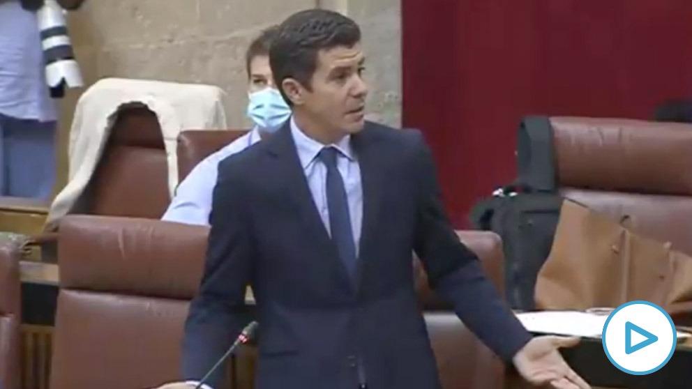 Sergio Romero, de Ciudadanos, recuerda que el Gobierno debe 2.500 millones a Andalucía: «Los andaluces son víctimas ideológicas de Sánchez e Iglesias»