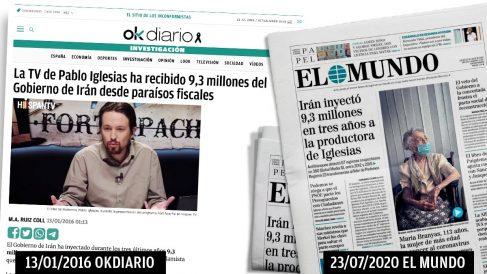 El Mundo reproduce una noticia de OKDIARIO cuatro años después.