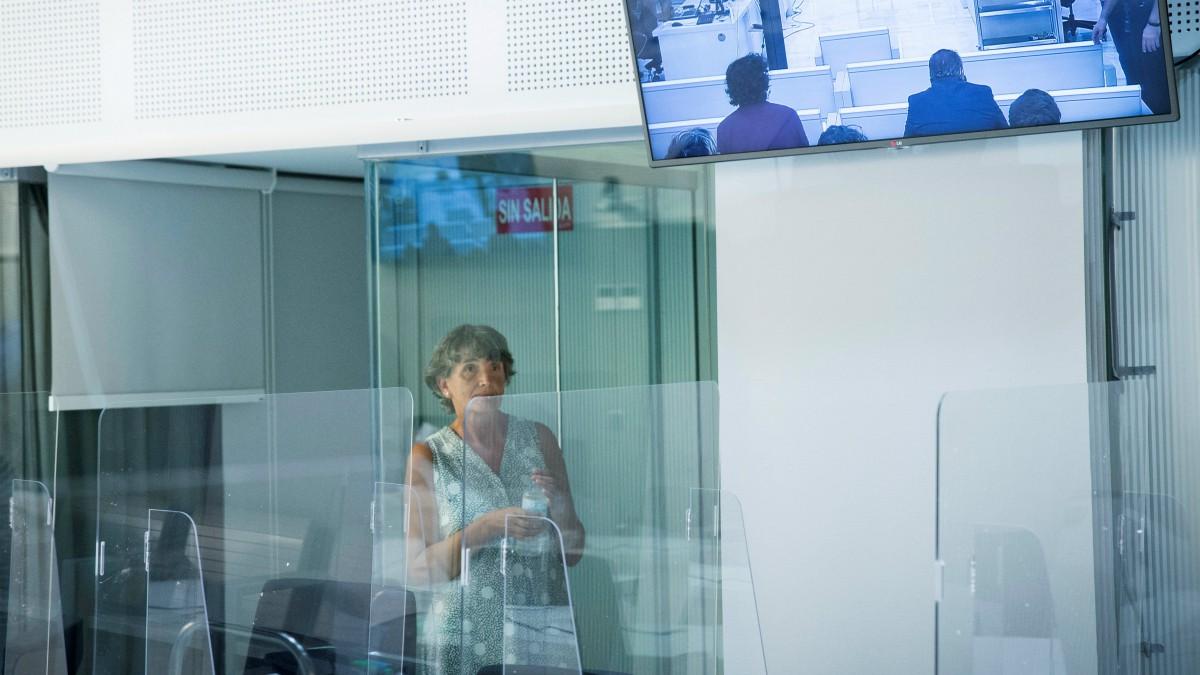 La exjefa de ETA María Soledad Iparragirre, alias 'Anboto', durante el juicio en la Audiencia Nacional – Pool