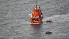 Imagen de archivo del rescate de varias pateras