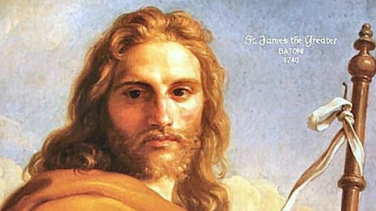 El Apóstol Santiago es el patrón de España desde 1630