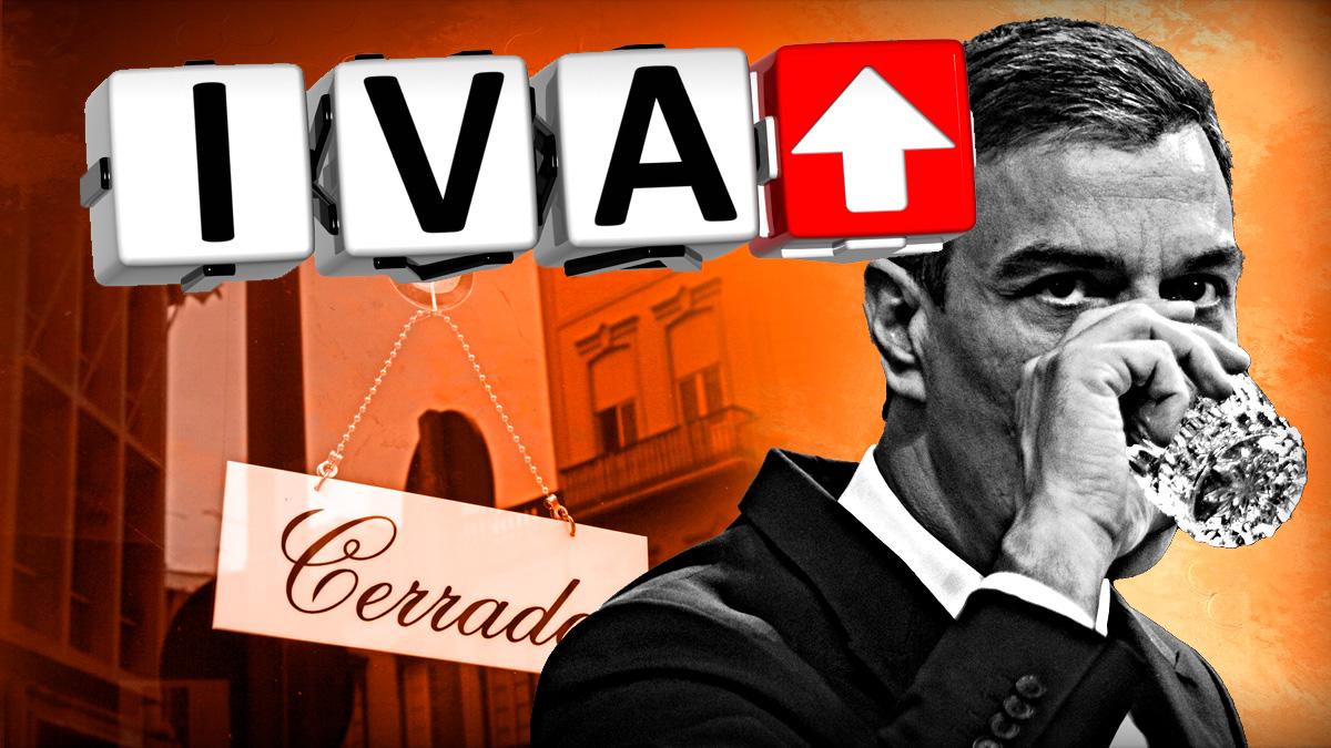 La hostelería advierte: si Sánchez sube el IVA cerrarán 130.000 negocios en 2020 y no 65.000