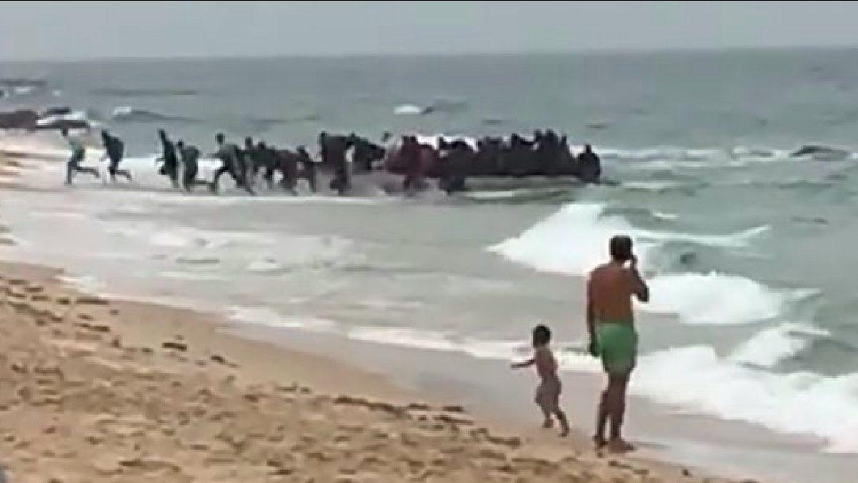 Pateras ilegales.
