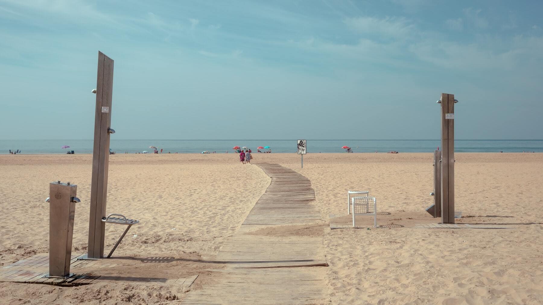 Playa en Huelva
