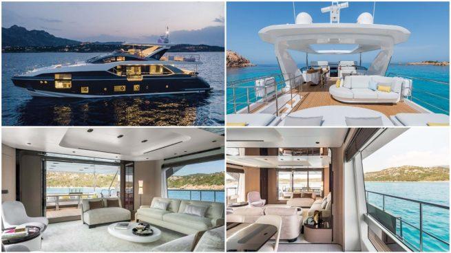 El nuevo barco de Cristiano Ronaldo.