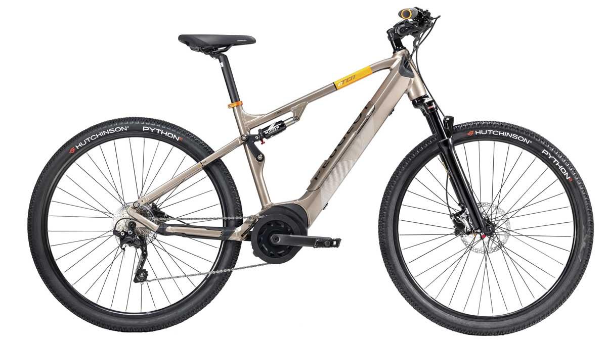 Bicicleta eléctrica de Peugeot.