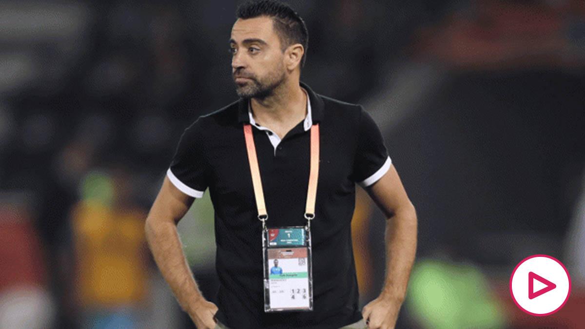 Xavi Hernández, técnico del Al- Saad (AFP)