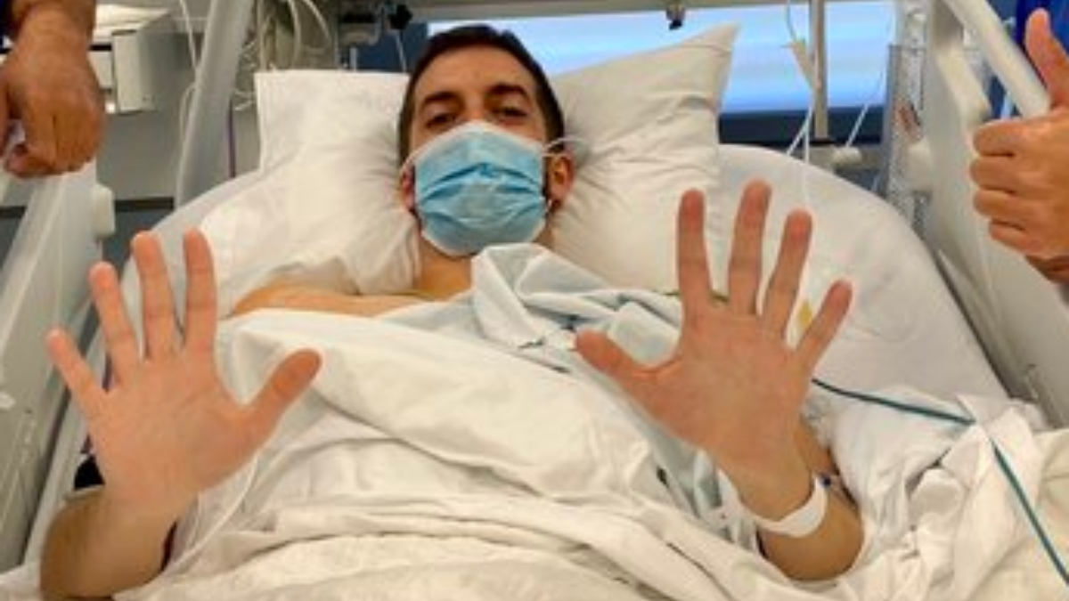 Twitter: David Broncano pasa por el quirófano para acabar con sus problemas de sudor en las manos