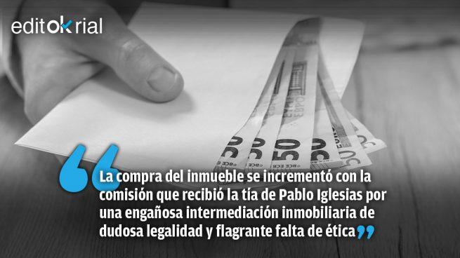 Los turbios negocios familiares de Pablo Iglesias