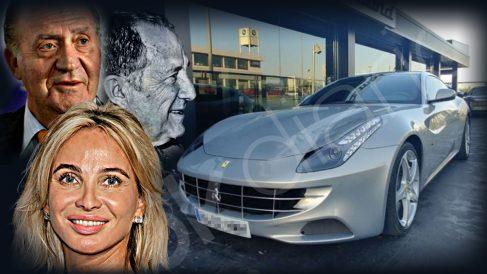El Ferrari FF del Rey Juan Carlos I que el CNI atribuye a Corinna.