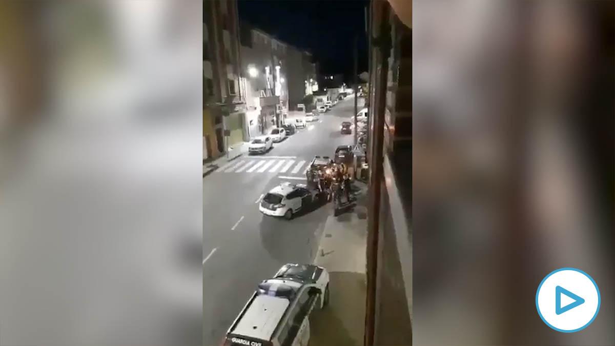 Brutal agresión a tres agentes de la Guardia Civil