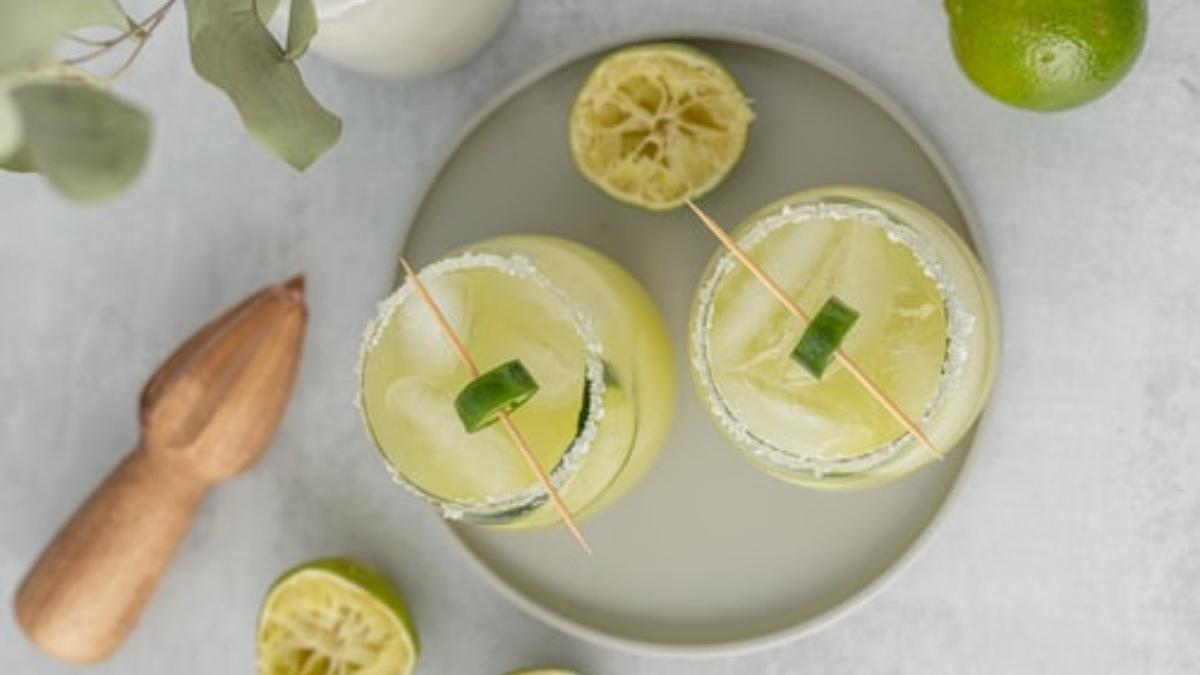 Granizado de limón saludable