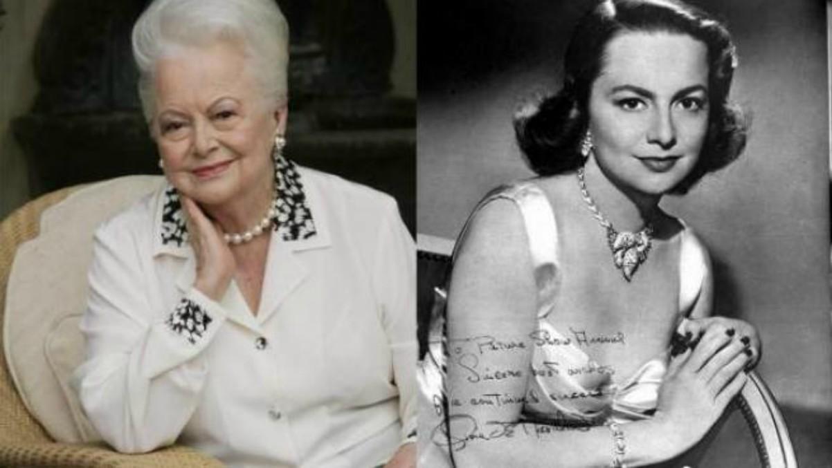 Olivia de Havilland fallece a los 104 años.