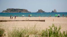 Imagen de la playa de L'Estartit (Gerona).