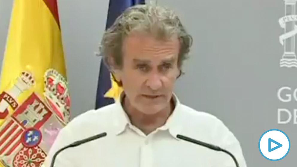 Fernando Simón, portavoz técnico del Ministerio de Sanidad.