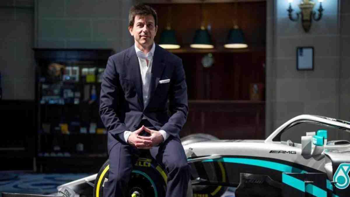 Toto Wolff, director de Mercedes. (AFP)