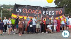 Nueva protesta ante el casoplón de Galapagar. Imágen: Francisco Toledo