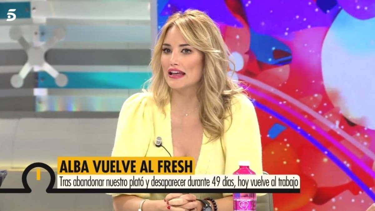 Alba Carrillo en 'Ya es mediodía'