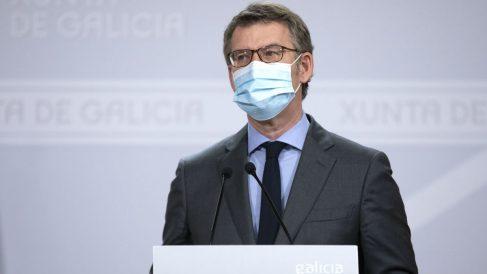 El presidente de la Xunta, Alberto Núñez Feijóo. (Foto: Europa Press)