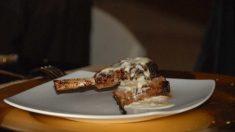 Receta de Chuletas de cordero fritas, con salsa de yogur y menta