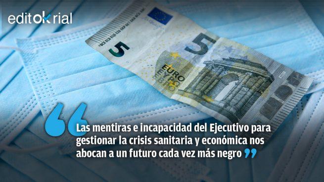 España paga la incompetencia de un Gobierno que nos lleva a la ruina